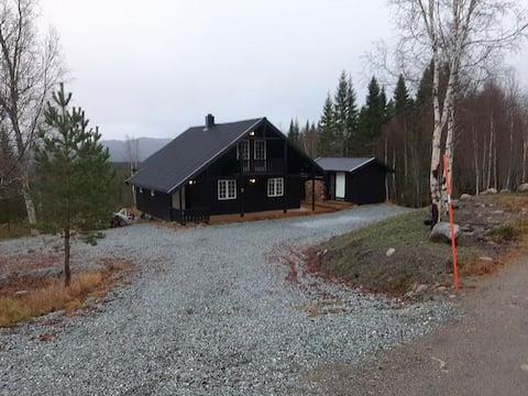 Koselig hytte på Bjørgan.