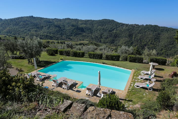 Charming Villa & pool in Chianti x 9