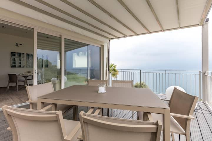 Beautiful panoramic terrace