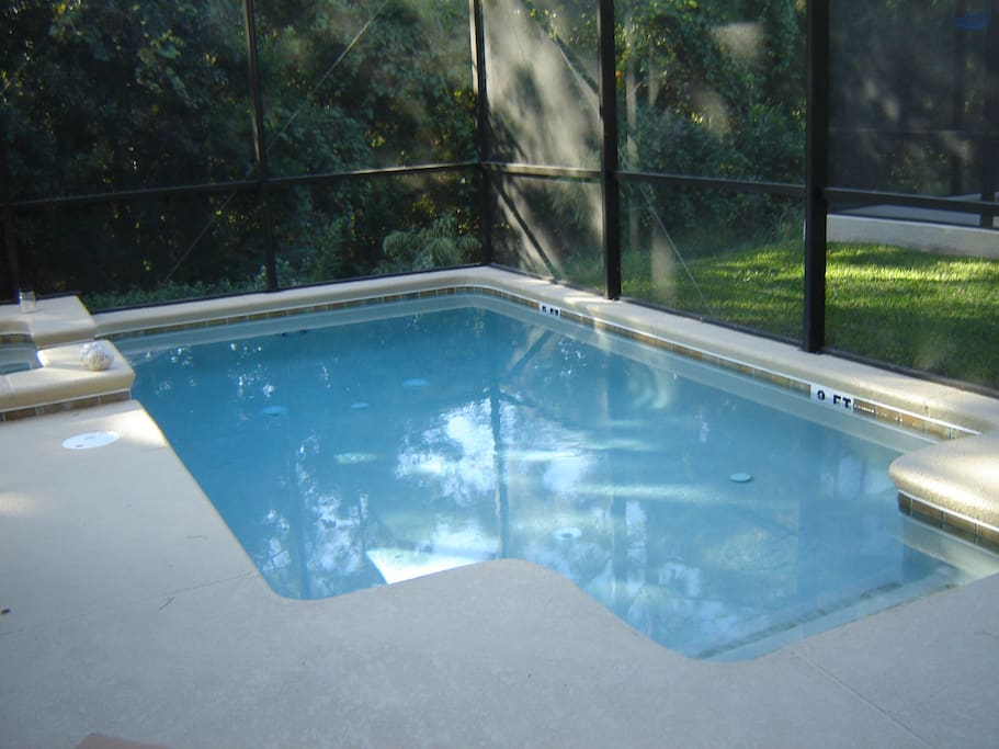 Sparkling private pool and spa in addition to large pool and spas at clubhouse.