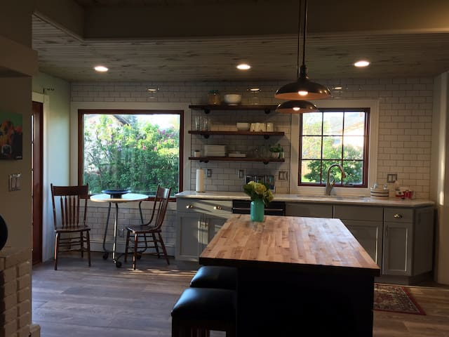 The Haught House (newly renovated kitchen)