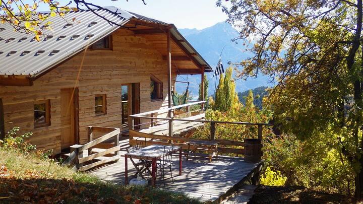 Réallon: dernière maison avant la montagne!