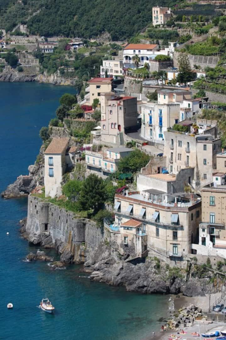 Villa sul mare della Costa d'Amalfi