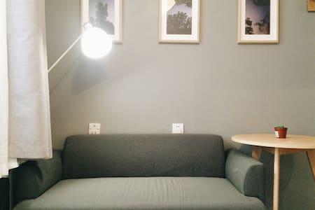 【胶囊公寓】二环内南锣鼓巷地铁附近北欧风独卫公寓,近南锣/景山/后海 - Beijing - Appartement