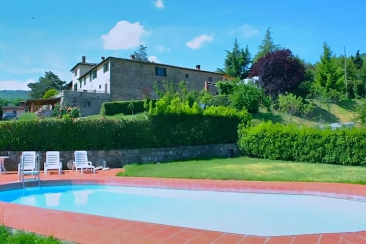 Live a Chianti Experience for 2 - Lucolena - Appartement