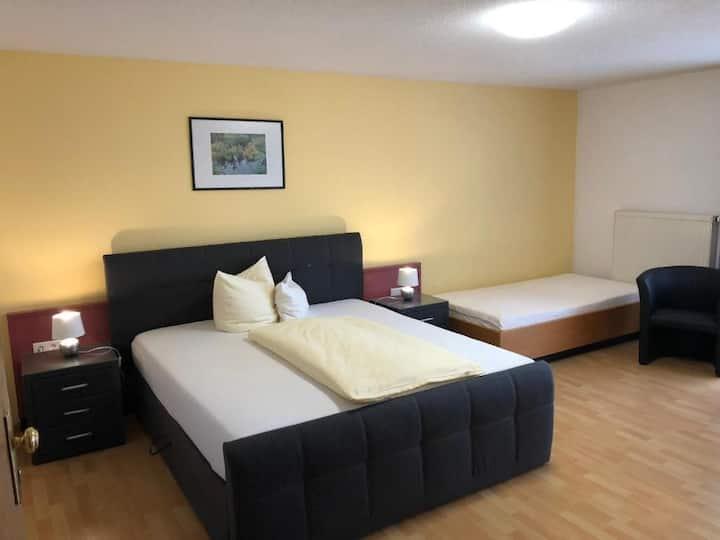 Tip-Top Hotel am Hochrhein, (Bad Säckingen), Doppelzimmer Superior light