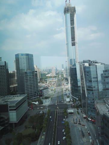 Enjoy the beauty of Suzhou city-skyline... - Suzhou - Apartment