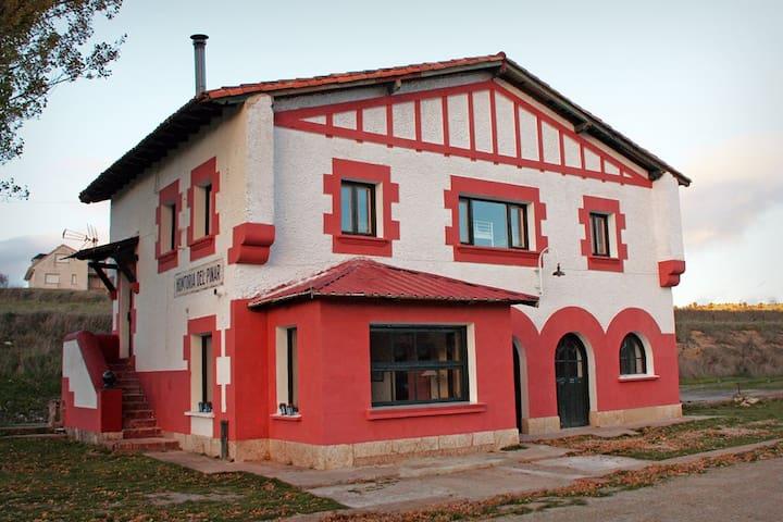 ALBERGUE LaEstaciónDelRíoLobos (2) - Hontoria del Pinar - Casa