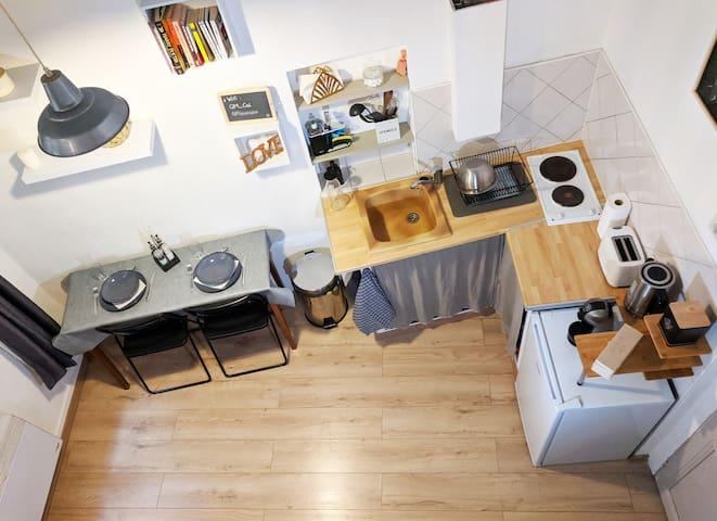 Studio Mezzanine Centre historique de Aix
