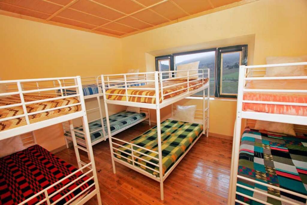 Vista de la habitación (8 plazas)