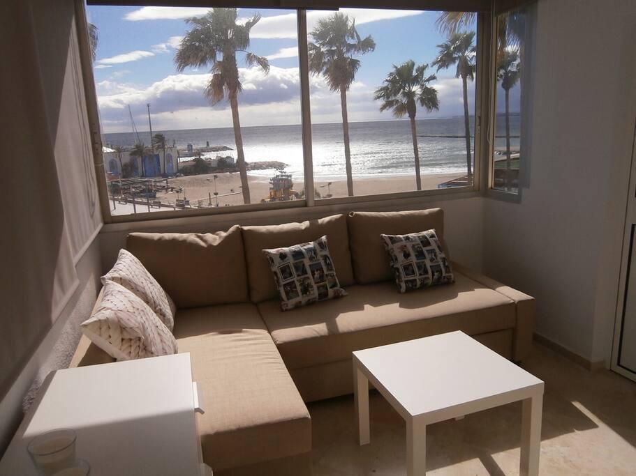 Vistas playa desde habitacion