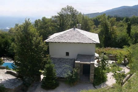 Zephyros Pelion Kissos pool house - Kissos