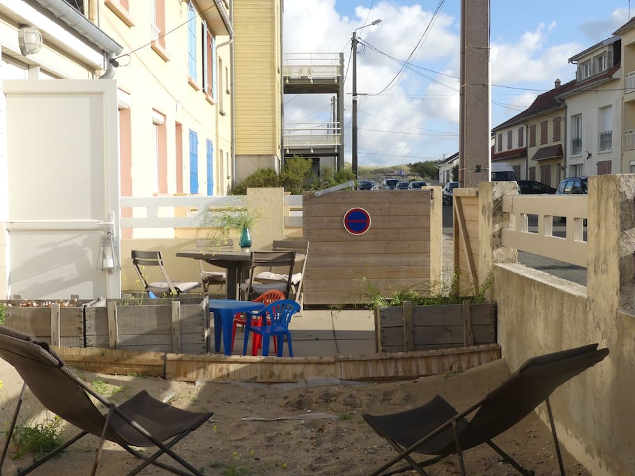 Jardin et terrasse privative