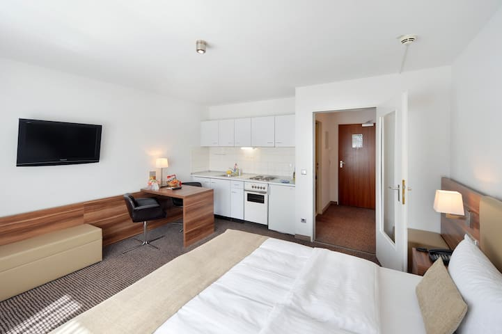 Apartment in 3-star hotel (#3) Long-Stay discount