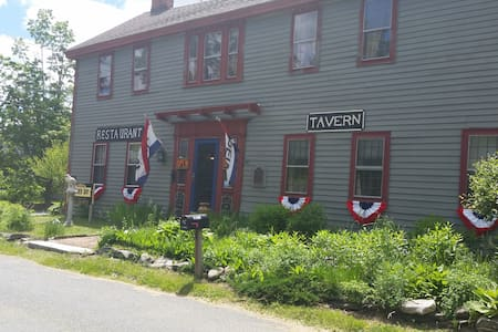 Historic and Haunted New Boston Inn