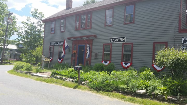 Historic and Haunted New Boston Inn