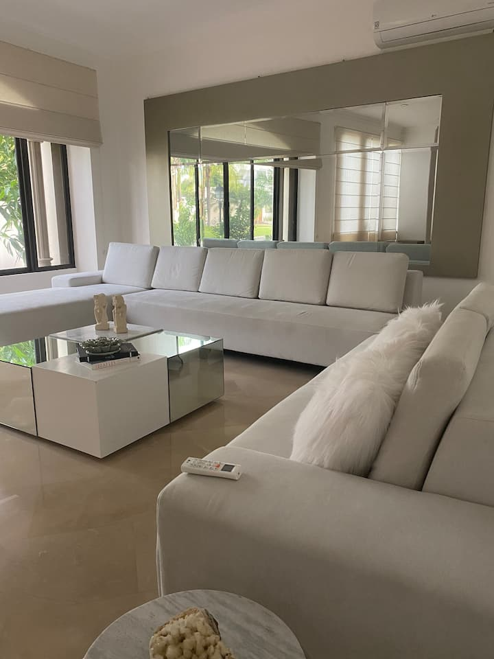 Exclusive residence situated in a private area.