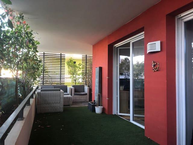 T3-Appartement 60m2 avec une belle terrasse 40m2