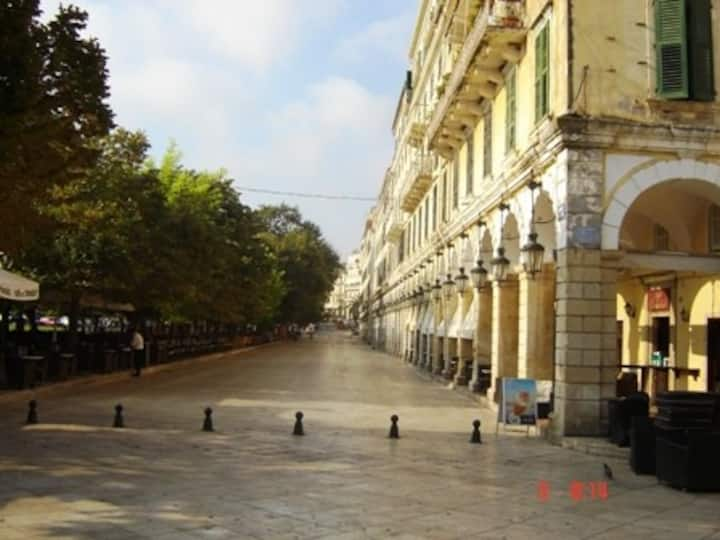 Flat for rent in Corfu Town