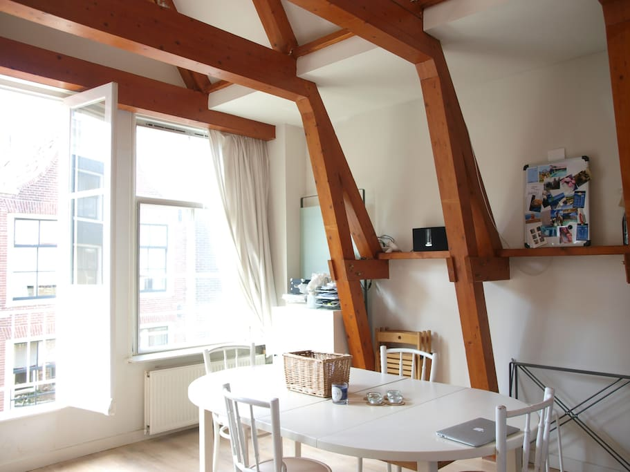 High ceilings: hope you will fall in love with the apartment just like I did :-)