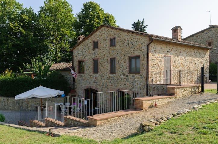 Tuscany Siena Wonderful Apartment  - Lornano - Apartamento