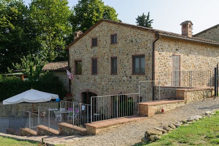 Tuscany Siena Wonderful Apartment  - Lornano - Appartement