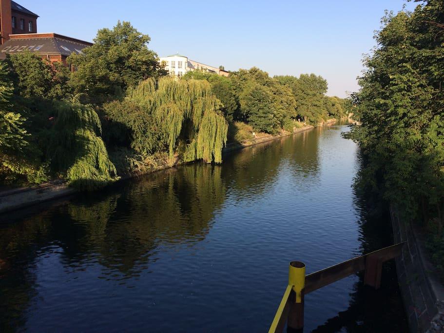 The romantic Landwehr Canal