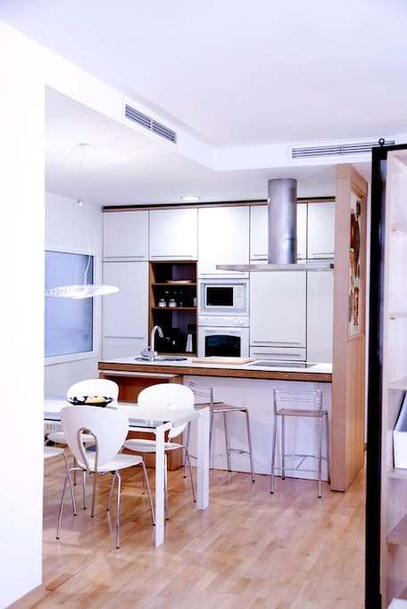 Open Kitchen from Living
