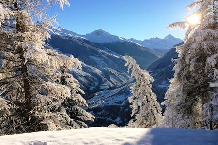 A Swiss Alpine Sanctuary - Hérémence - Chalet