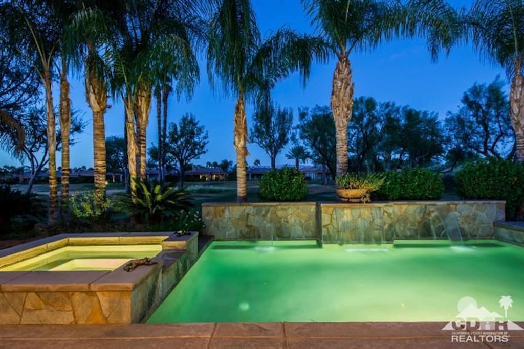 Heated Pool and Jacuzzi in the backyard.(Fee is assessed per day during the months of November-March for heating the pool, no charge for Jacuzzi.)