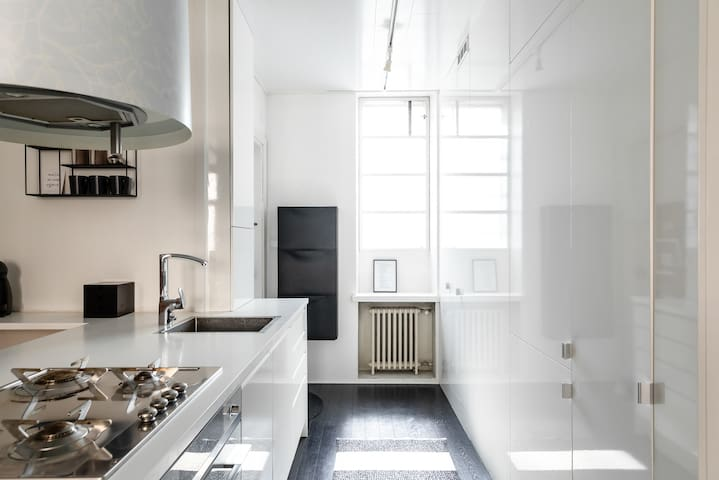 Modern stylish flat at the best of Helsinki
