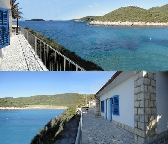 House for rent,island Vis - Milna bay, 5m from sea - Vis - Σπίτι