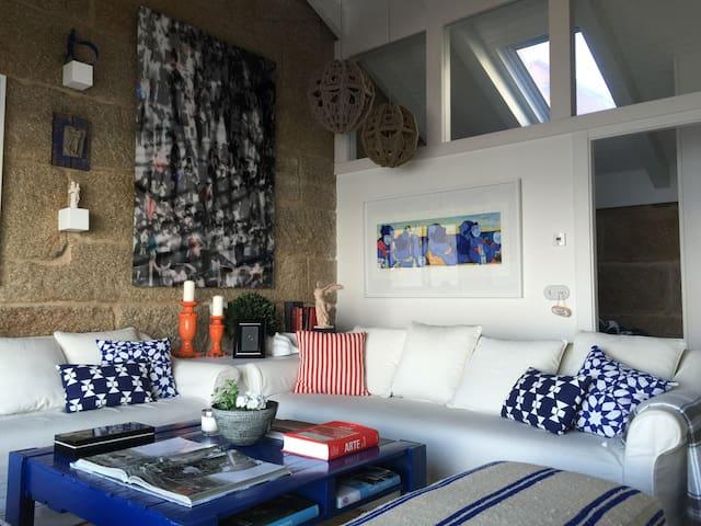 Casa en la playa de Bueu - Bueu - Tatil evi