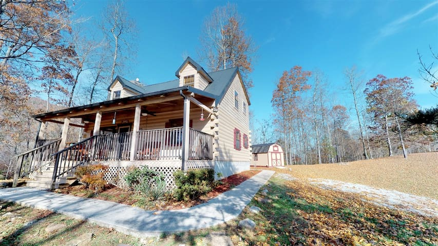 Hickory Ridge Romantic 2BR w/Jacuzzi Bathtub and access to Norris Lake