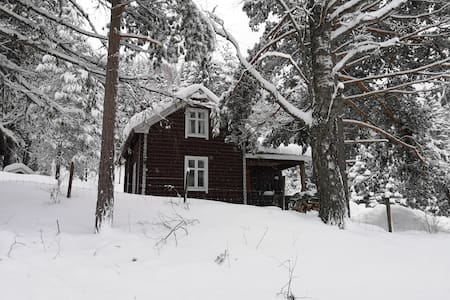 Cosy Log Cabin in the Norwegian Woods