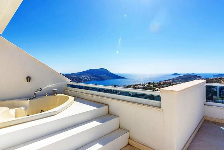 VILLA MARIBEL at KALKAN with an exclusive sea view