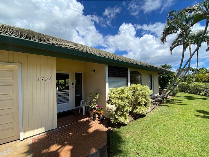 Kauai House: Short Walk to Beaches,  Pool Access, Beautiful Walking Paths