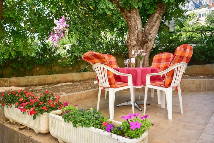 Paula-One Bedroom Apt with Terrace and Garden View