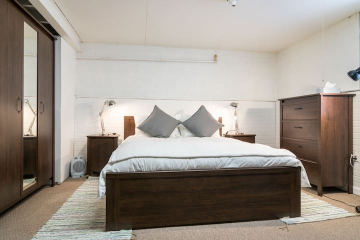 Large basement bedroom. - Harper Woods - House