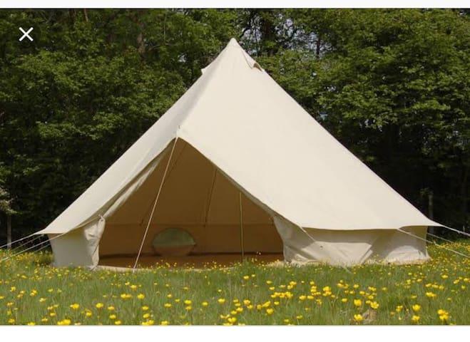 Bell tent getaway