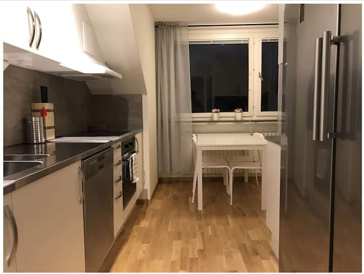 Linköping: Three room apartment with 6 beds