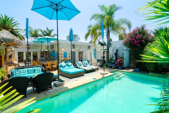 Pool Privacy Luxury Location Pacific Palisades