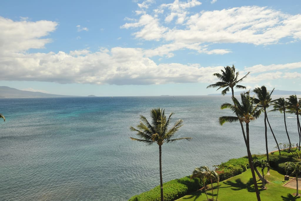 View from our top floor lanai.
