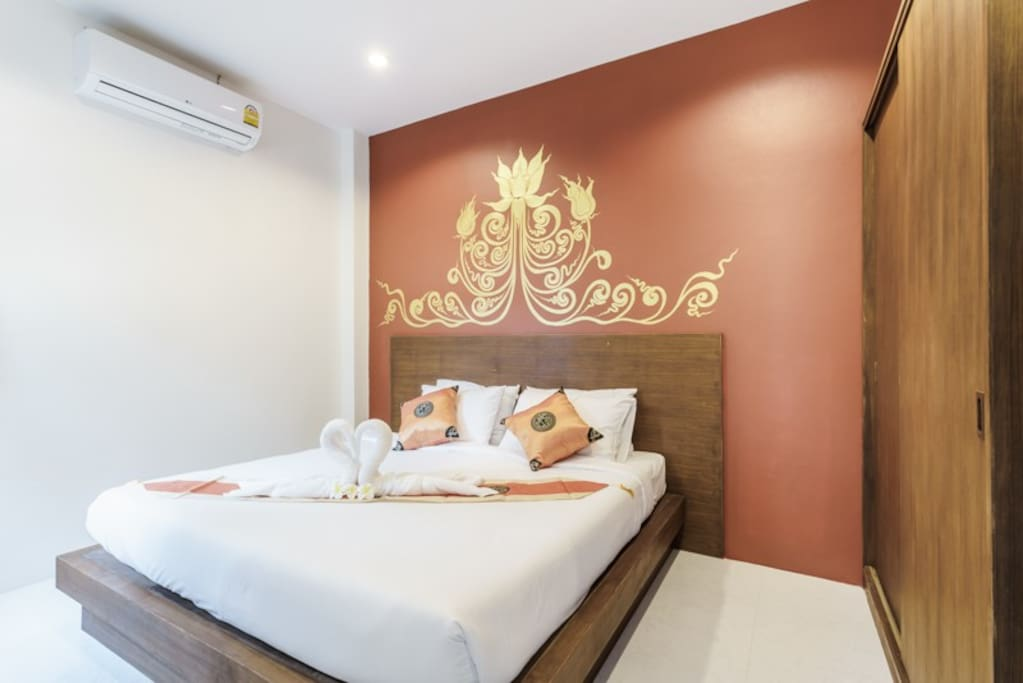 Master Bedroom of 1 Siam Villa