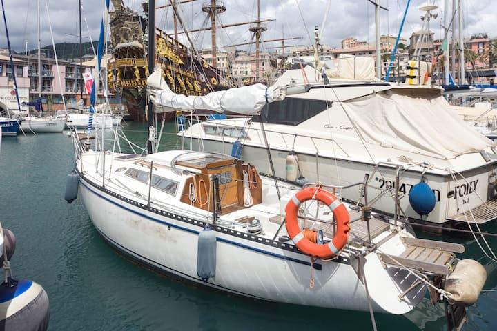 Barca Vela Centro Storico Acquario di Genova