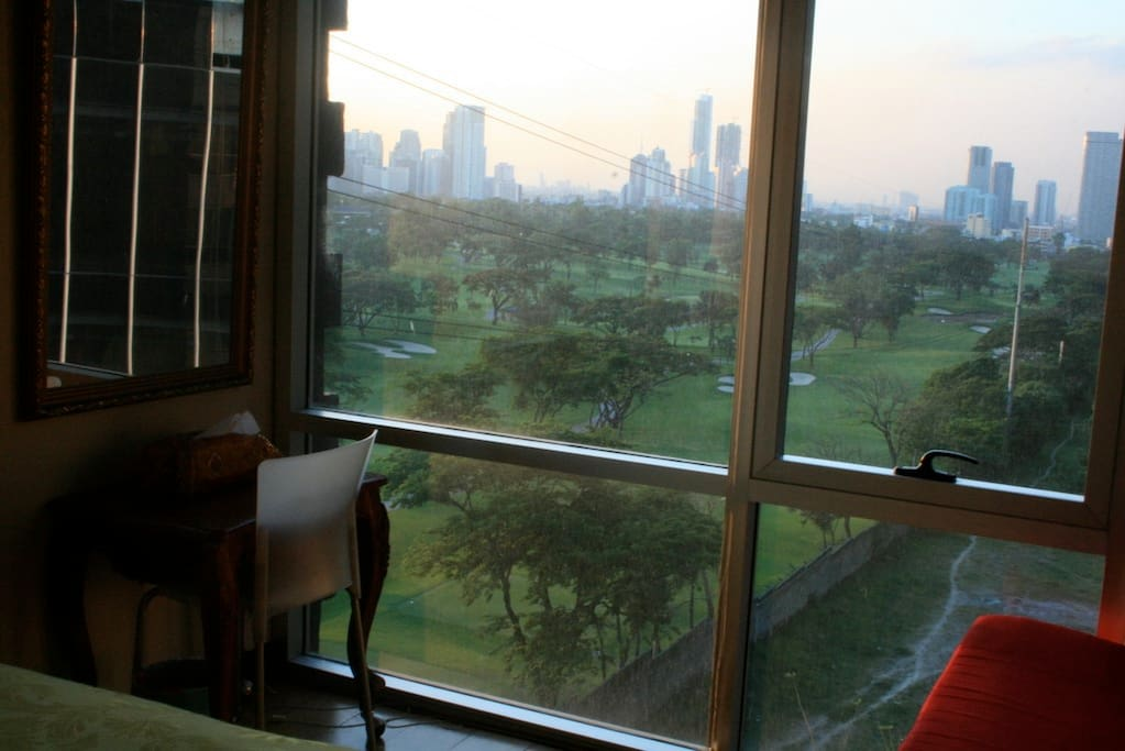 The view from the Master's bedroom