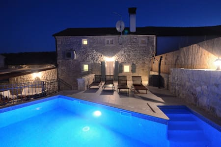 Istrian house private swimming pool