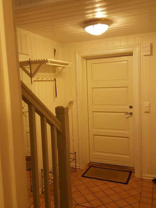 In the first floor there is a wardrobe with good space, and a bathroom.
