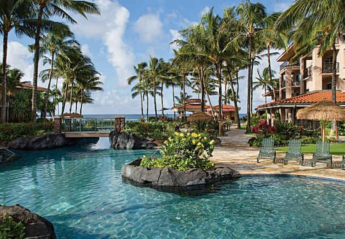 Marriott Waiohai Beach Club!!  - Koloa - Leilighet