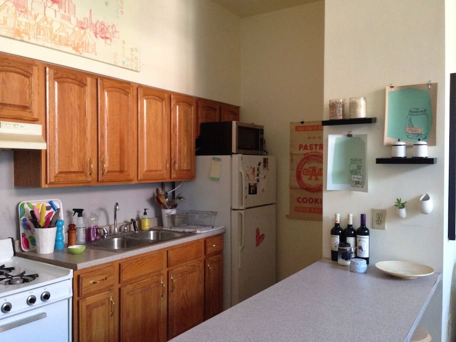 kitchen has everything you need!